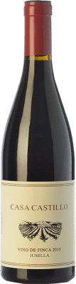 9,95 € Kostenloser Versand | Rotwein Casa Castillo Vino de Finca Crianza D.O. Jumilla Kastilien-La Mancha Spanien Grenache, Monastrell Flasche 75 cl
