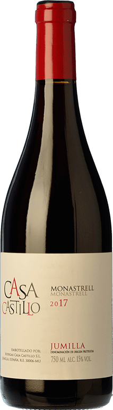 9,95 € Envoi gratuit | Vin rouge Casa Castillo Joven D.O. Jumilla Castilla La Mancha Espagne Syrah, Grenache, Monastrell Bouteille 75 cl