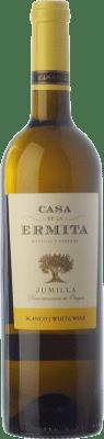 4,95 € Envío gratis | Vino blanco Casa de la Ermita D.O. Jumilla Castilla la Mancha España Viognier Botella 75 cl
