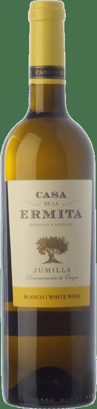 4,95 € Envoi gratuit | Vin blanc Casa de la Ermita D.O. Jumilla Castilla La Mancha Espagne Viognier Bouteille 75 cl