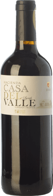 6,95 € Kostenloser Versand | Rotwein Casa del Valle Hacienda Joven I.G.P. Vino de la Tierra de Castilla Kastilien-La Mancha Spanien Syrah Flasche 75 cl