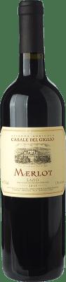8,95 € Free Shipping | Red wine Casale del Giglio I.G.T. Lazio Lazio Italy Merlot Bottle 75 cl