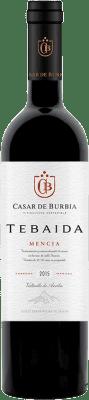 22,95 € Envío gratis | Vino tinto Casar de Burbia Tebaida Crianza D.O. Bierzo Castilla y León España Mencía Botella 75 cl