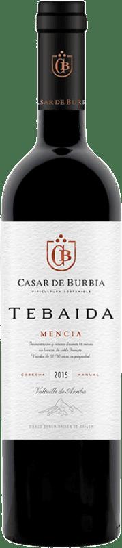 22,95 € Free Shipping | Red wine Casar de Burbia Tebaida Crianza D.O. Bierzo Castilla y León Spain Mencía Bottle 75 cl