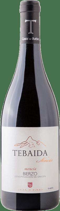 42,95 € Free Shipping | Red wine Casar de Burbia Tebaida Nemesio Crianza D.O. Bierzo Castilla y León Spain Mencía Bottle 75 cl
