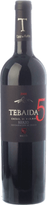 49,95 € Free Shipping | Red wine Casar de Burbia Tebaida Pago 5 Crianza 2010 D.O. Bierzo Castilla y León Spain Mencía Bottle 75 cl | Thousands of wine lovers trust us to get the best price guarantee, free shipping always and hassle-free shopping and returns.