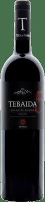 46,95 € Envío gratis | Vino tinto Casar de Burbia Tebaida Pago 5 Crianza D.O. Bierzo Castilla y León España Mencía Botella 75 cl