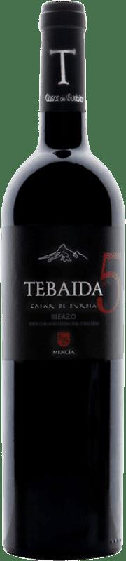 46,95 € Free Shipping | Red wine Casar de Burbia Tebaida Pago 5 Crianza D.O. Bierzo Castilla y León Spain Mencía Bottle 75 cl