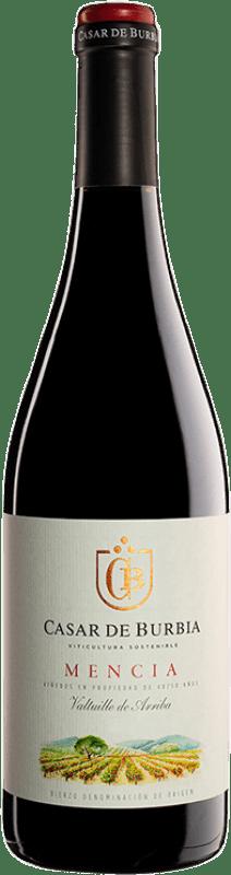 9,95 € Envoi gratuit | Vin rouge Casar de Burbia Joven D.O. Bierzo Castille et Leon Espagne Mencía Bouteille 75 cl