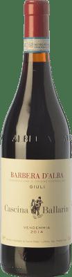 25,95 € Free Shipping | Red wine Cascina Ballarin Giuli D.O.C. Barbera d'Alba Piemonte Italy Barbera Bottle 75 cl