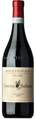 13,95 € Free Shipping | Red wine Cascina Ballarin Pilade D.O.C.G. Dolcetto d'Alba Piemonte Italy Dolcetto Bottle 75 cl