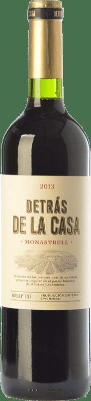 15,95 € Free Shipping | Red wine Castaño Detrás de la Casa Crianza D.O. Yecla Region of Murcia Spain Monastrell Bottle 75 cl