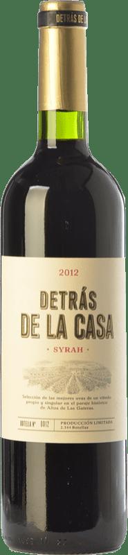 16,95 € Free Shipping | Red wine Castaño Detrás de la Casa Crianza D.O. Yecla Region of Murcia Spain Syrah Bottle 75 cl
