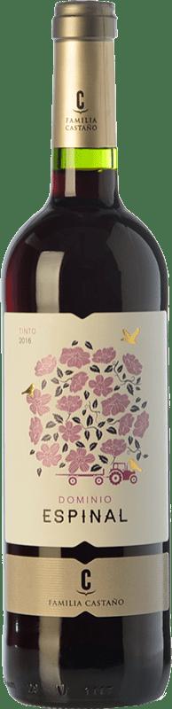 5,95 € Free Shipping | Red wine Castaño Dominio de Espinal Joven D.O. Yecla Region of Murcia Spain Syrah, Monastrell Bottle 75 cl
