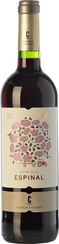 5,95 € Envoi gratuit | Vin rouge Castaño Dominio de Espinal Joven D.O. Yecla Région de Murcie Espagne Syrah, Monastrell Bouteille 75 cl