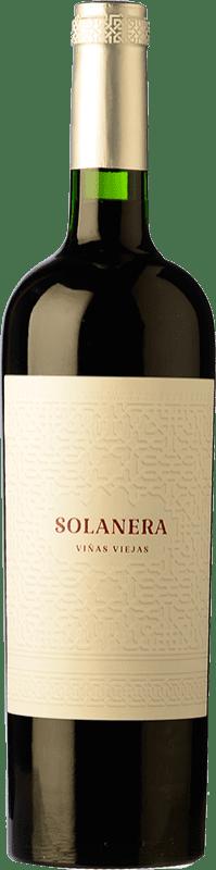 12,95 € Free Shipping | Red wine Castaño Solanera Joven D.O. Yecla Region of Murcia Spain Cabernet Sauvignon, Monastrell, Grenache Tintorera Bottle 75 cl