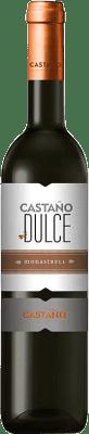 18,95 € Envío gratis | Vino dulce Castaño D.O. Yecla Región de Murcia España Monastrell Media Botella 50 cl