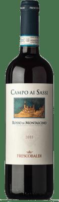 19,95 € Free Shipping | Red wine Marchesi de' Frescobaldi Castelgiocondo Campo ai Sassi D.O.C. Rosso di Montalcino Tuscany Italy Sangiovese Bottle 75 cl