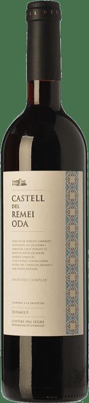 24,95 € Envoi gratuit | Vin rouge Castell del Remei Oda Crianza D.O. Costers del Segre Catalogne Espagne Tempranillo, Merlot, Syrah, Cabernet Sauvignon Bouteille Magnum 1,5 L