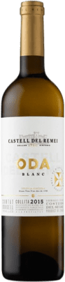 15,95 € Envoi gratuit | Vin blanc Castell del Remei Oda Blanc Crianza D.O. Costers del Segre Catalogne Espagne Macabeo, Chardonnay Bouteille 75 cl