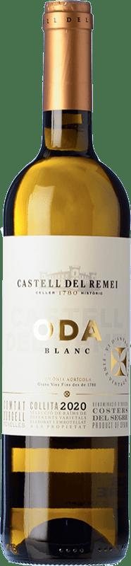 9,95 € Envío gratis   Vino blanco Castell del Remei Oda Blanc Crianza D.O. Costers del Segre Cataluña España Macabeo, Chardonnay Botella 75 cl
