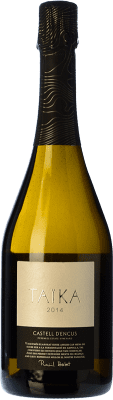 61,95 € Envoi gratuit | Blanc moussant Castell d'Encús Taïka D.O. Costers del Segre Catalogne Espagne Sauvignon Blanc, Sémillon Bouteille 75 cl
