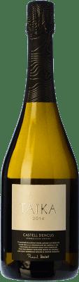45,95 € Kostenloser Versand | Weißer Sekt Castell d'Encús Taïka D.O. Costers del Segre Katalonien Spanien Sauvignon Weiß, Sémillon Flasche 75 cl
