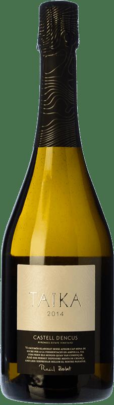 45,95 € Free Shipping | White sparkling Castell d'Encús Taïka D.O. Costers del Segre Catalonia Spain Sauvignon White, Sémillon Bottle 75 cl