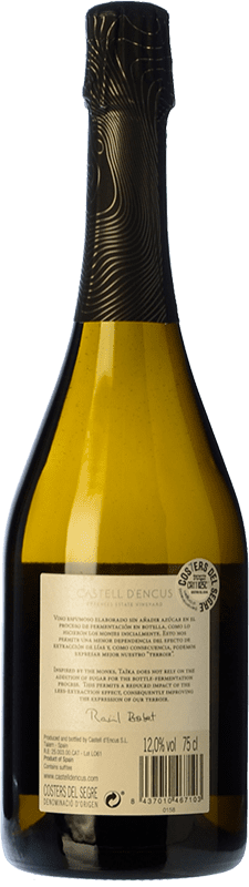 44,95 € Free Shipping | White sparkling Castell d'Encús Taïka D.O. Costers del Segre Catalonia Spain Sauvignon White, Sémillon Bottle 75 cl. | Thousands of wine lovers trust us to get the best price guarantee, free shipping always and hassle-free shopping and returns.