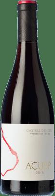 49,95 € Envoi gratuit | Vin rouge Castell d'Encús Acusp Crianza D.O. Costers del Segre Catalogne Espagne Pinot Noir Bouteille 75 cl