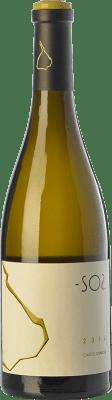 19,95 € Kostenloser Versand | Weißwein Castell d'Encús SO2 Crianza D.O. Costers del Segre Katalonien Spanien Sauvignon Weiß, Sémillon Flasche 75 cl