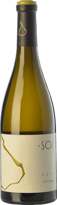 25,95 € Free Shipping | White wine Castell d'Encús SO2 Crianza D.O. Costers del Segre Catalonia Spain Sauvignon White, Sémillon Bottle 75 cl. | Thousands of wine lovers trust us to get the best price guarantee, free shipping always and hassle-free shopping and returns.