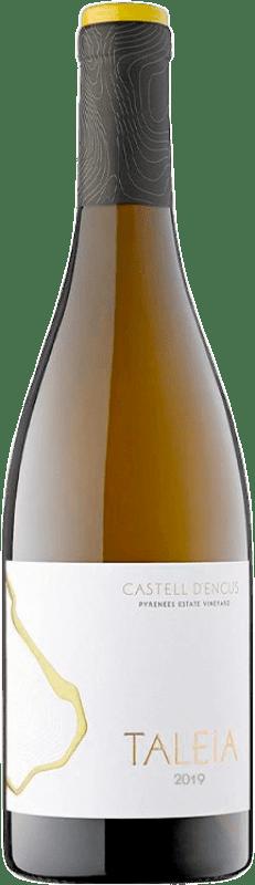 28,95 € Free Shipping | White wine Castell d'Encús Taleia Crianza D.O. Costers del Segre Catalonia Spain Sauvignon White, Sémillon Bottle 75 cl