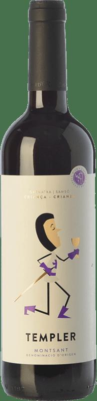 9,95 € Envío gratis | Vino tinto Castell d'Or Templer Criança Crianza D.O. Montsant Cataluña España Garnacha, Cariñena Botella 75 cl