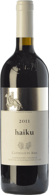 62,95 € Free Shipping   Red wine Castello di Ama Haiku I.G.T. Toscana Tuscany Italy Merlot, Sangiovese, Cabernet Franc Bottle 75 cl