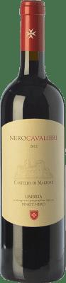 16,95 € Free Shipping | Red wine Castello di Magione Nero Cavalieri I.G.T. Umbria Umbria Italy Pinot Black Bottle 75 cl