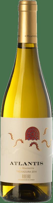7,95 € Free Shipping | White wine Castillo de Maetierra Atlantis D.O. Ribeiro Galicia Spain Treixadura Bottle 75 cl