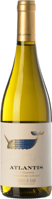 12,95 € Free Shipping | White wine Castillo de Maetierra Atlantis Txakolí de Álava D.O. Arabako Txakolina Basque Country Spain Hondarribi Zuri Bottle 75 cl