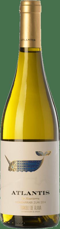 9,95 € Envoi gratuit   Vin blanc Castillo de Maetierra Atlantis Txakolí de Álava D.O. Arabako Txakolina Pays Basque Espagne Hondarribi Zuri Bouteille 75 cl