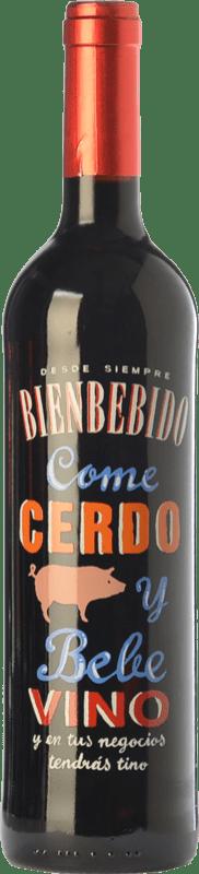 6,95 € Envoi gratuit   Vin rouge Castillo de Maetierra Come Cerdo y Bebe Vino Reserva I.G.P. Vino de la Tierra Valles de Sadacia La Rioja Espagne Tempranillo, Grenache Bouteille 75 cl