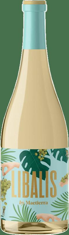 4,95 € Free Shipping | White wine Castillo de Maetierra Libalis Muscat I.G.P. Vino de la Tierra Valles de Sadacia The Rioja Spain Viura, Malvasía, Muscatel Small Grain Bottle 75 cl