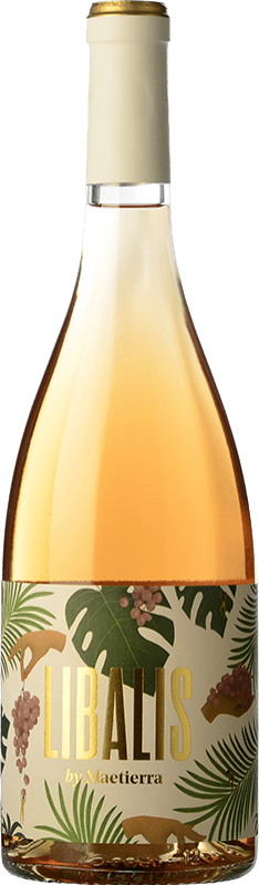 8,95 € Envío gratis   Vino rosado Castillo de Maetierra Libalis Rosé Joven I.G.P. Vino de la Tierra Valles de Sadacia La Rioja España Syrah, Moscatel Grano Menudo Botella 75 cl