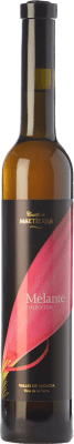 18,95 € Free Shipping | Sweet wine Castillo de Maetierra Melante Colección Crianza 2007 I.G.P. Vino de la Tierra Valles de Sadacia The Rioja Spain Muscatel Small Grain Half Bottle 50 cl | Thousands of wine lovers trust us to get the best price guarantee, free shipping always and hassle-free shopping and returns.
