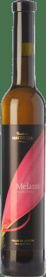 15,95 € Free Shipping | Sweet wine Castillo de Maetierra Melante Colección Crianza I.G.P. Vino de la Tierra Valles de Sadacia The Rioja Spain Muscatel Small Grain Half Bottle 50 cl