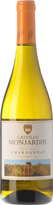 7,95 € Free Shipping | White wine Castillo de Monjardín El Cerezo D.O. Navarra Navarre Spain Chardonnay Bottle 75 cl
