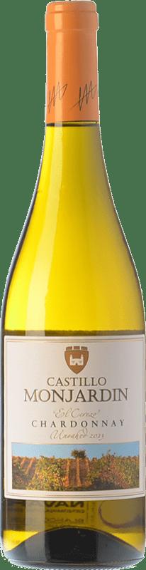 7,95 € Free Shipping | White wine Castillo de Monjardín El Cerezo D.O. Navarra Navarre Spain Chardonnay Bottle 75 cl