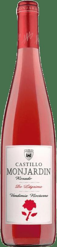 6,95 € Free Shipping | Rosé wine Castillo de Monjardín Rosado de Lágrima Joven D.O. Navarra Navarre Spain Tempranillo, Cabernet Sauvignon Bottle 75 cl