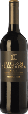 16,95 € Free Shipping | Red wine Castillo de Sajazarra Reserva D.O.Ca. Rioja The Rioja Spain Tempranillo, Grenache, Graciano Bottle 75 cl