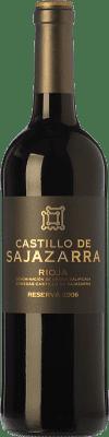 14,95 € Envío gratis | Vino tinto Castillo de Sajazarra Reserva D.O.Ca. Rioja La Rioja España Tempranillo, Garnacha, Graciano Botella 75 cl