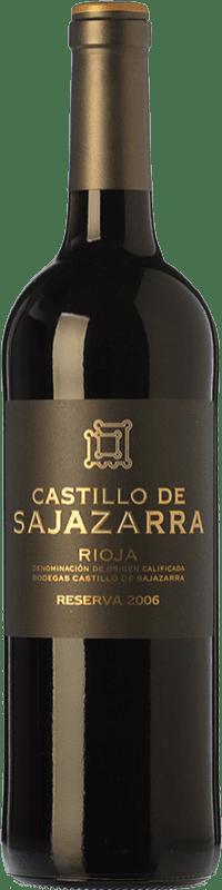 14,95 € Free Shipping | Red wine Castillo de Sajazarra Reserva D.O.Ca. Rioja The Rioja Spain Tempranillo, Grenache, Graciano Bottle 75 cl